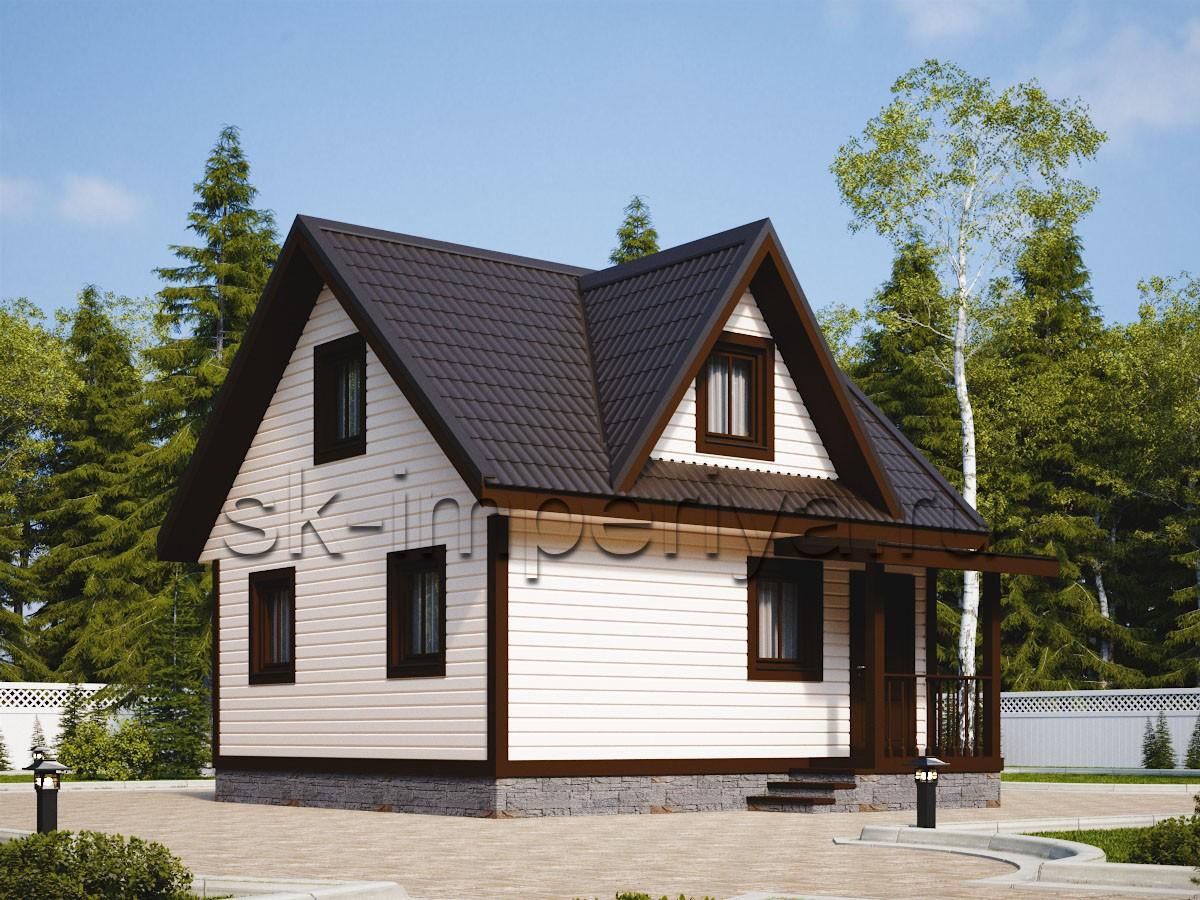 Каркасный дом: проект Нурма