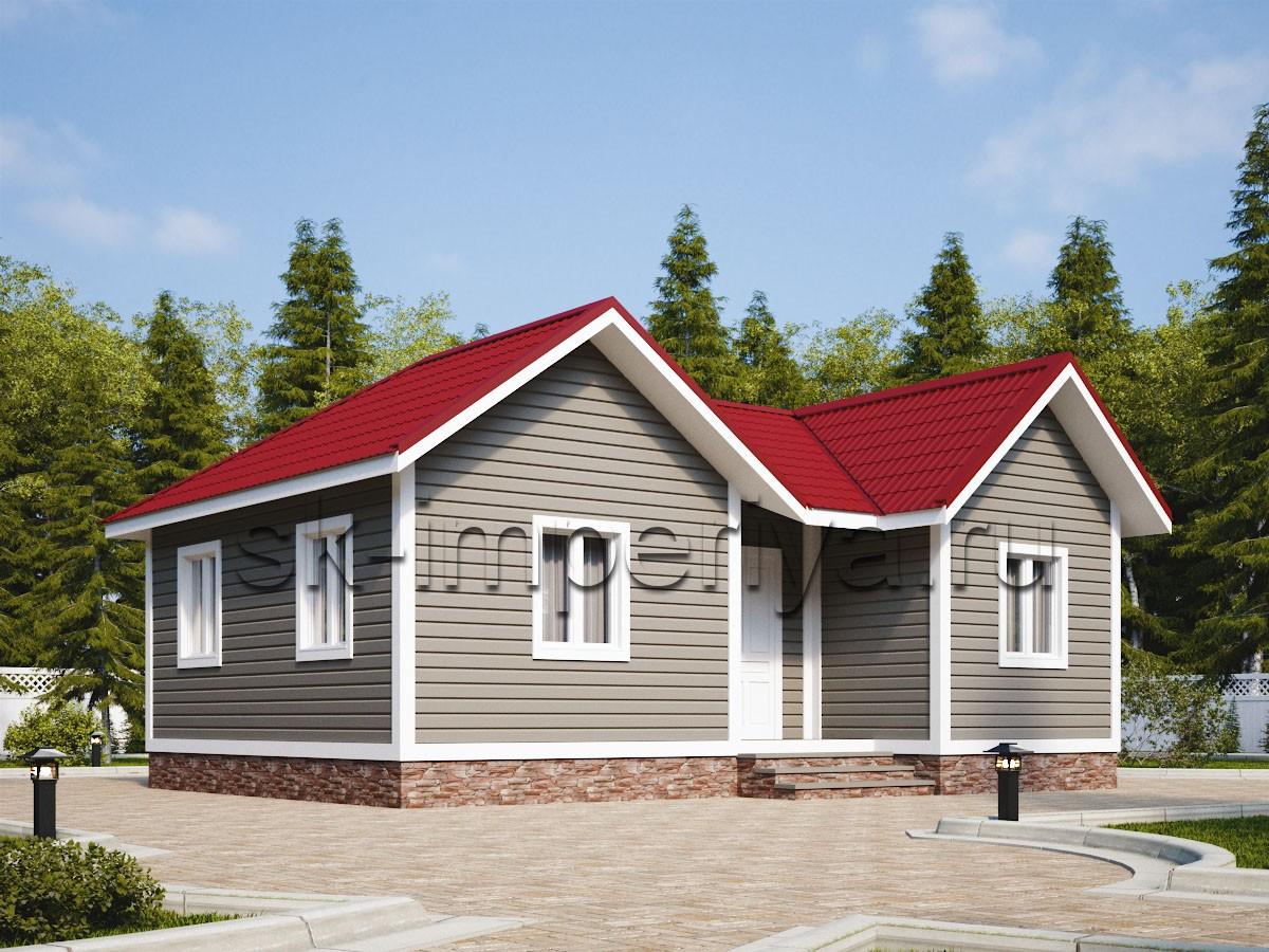 Каркасный дом: проект Фиеста