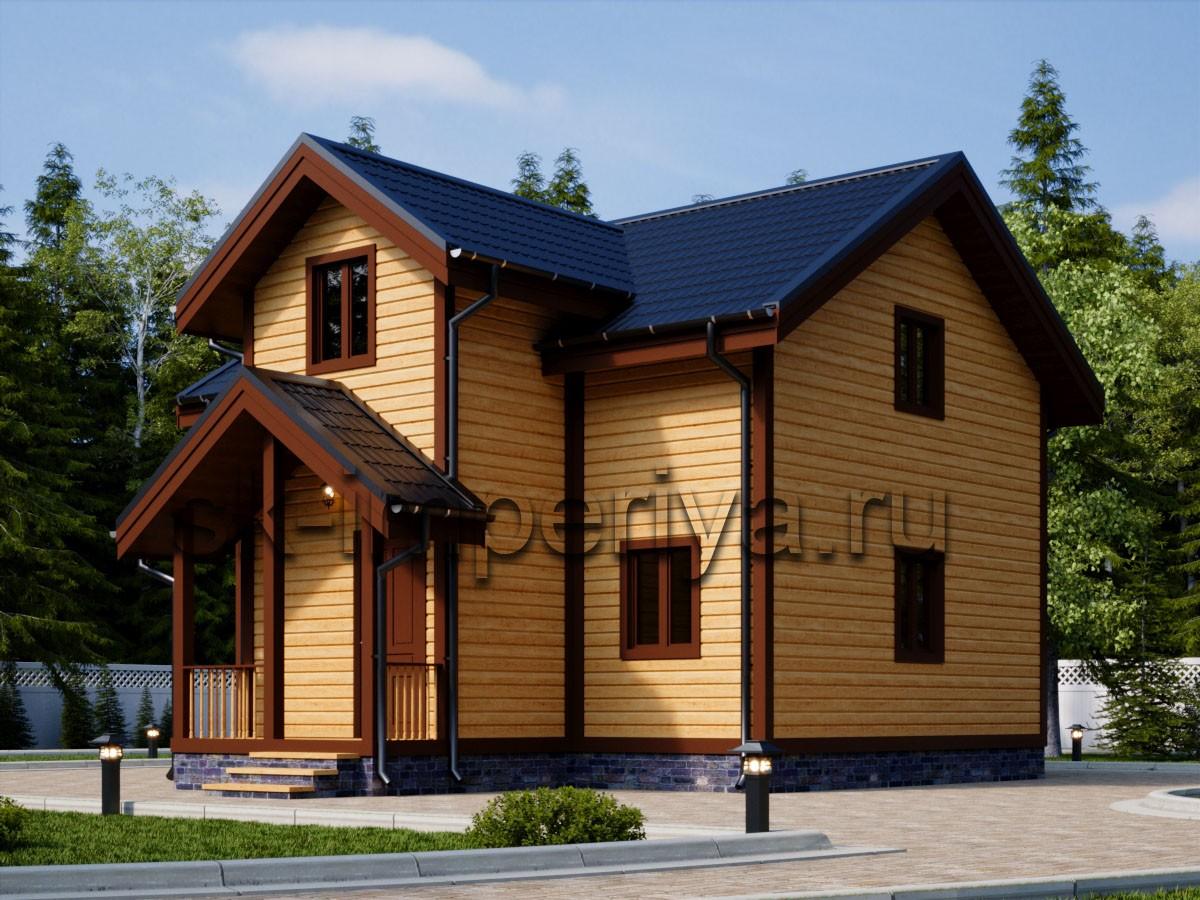 Каркасный дом: проект Современник