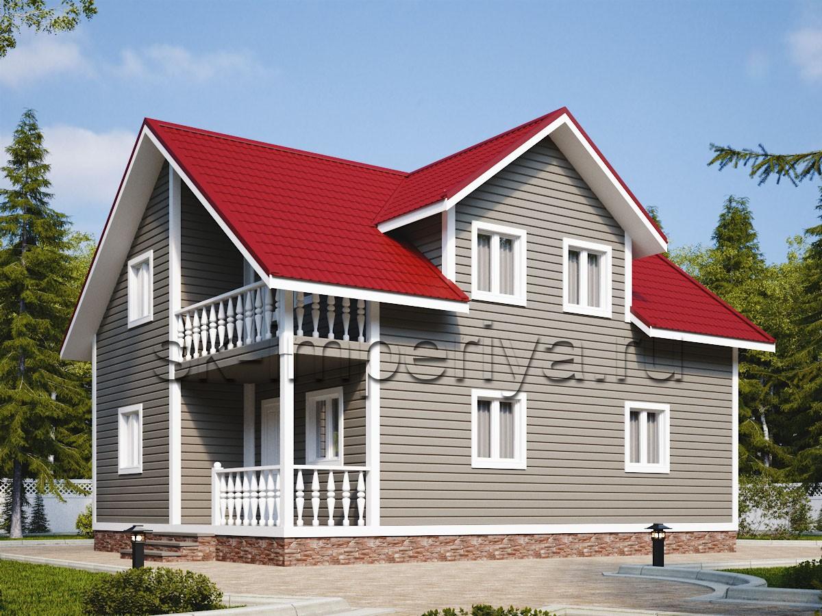 Каркасный дом: проект Розенталь