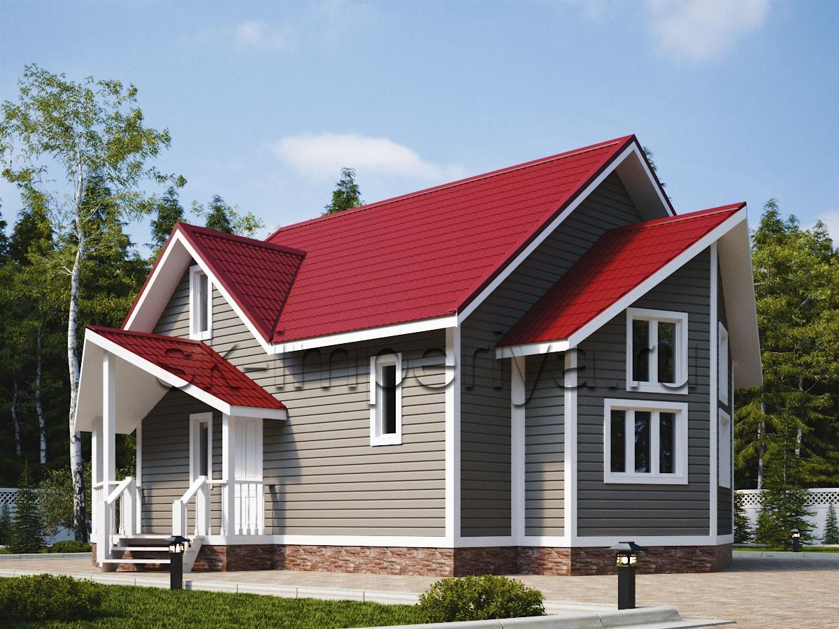 Каркасный дом: проект Орлеан