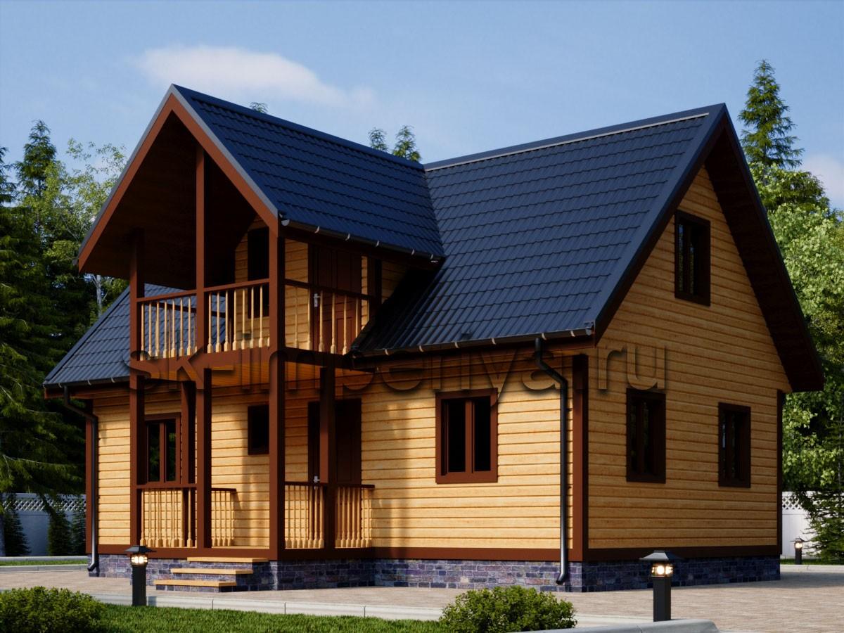 Каркасный дом: проект Уют