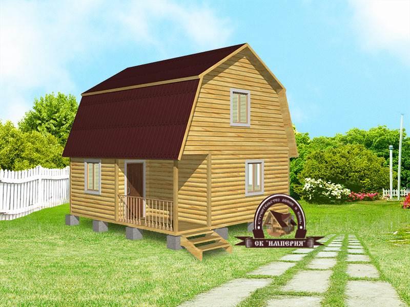 Дом из бруса: проект Д-13