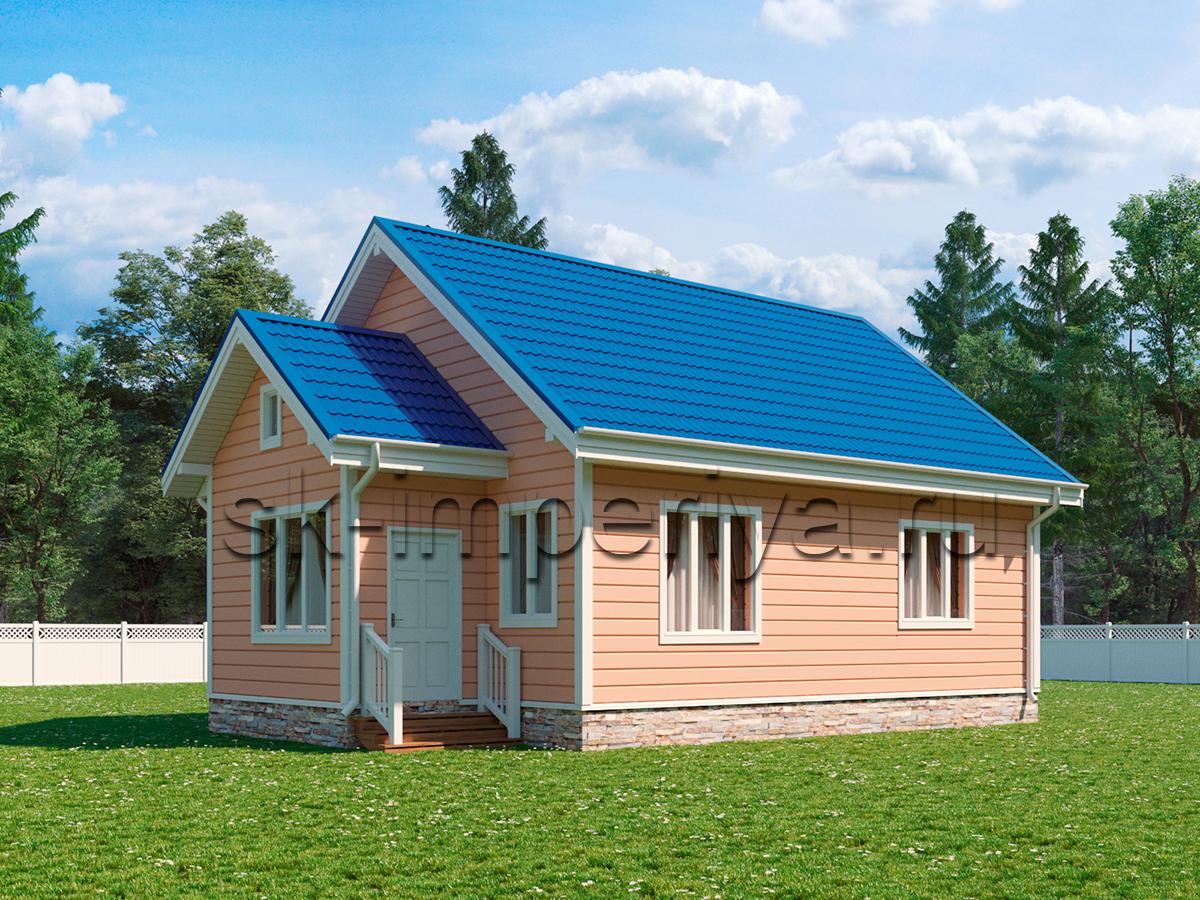 Каркасный дом: проект Горизонт