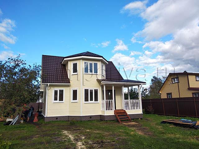 Каркасный дом, проект Лидер