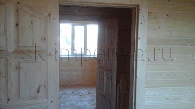 Индивидуальный проект полутораэтажного каркасного дома (6х8м.)