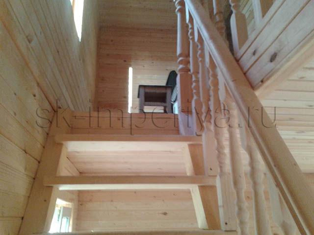 Индивидуального проекта полутораэтажного каркасного дома (8х11м.)