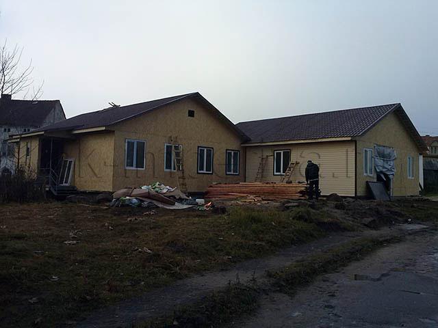 Индивидуальный проект два одноэтажных каркасных дома на четыре семьи