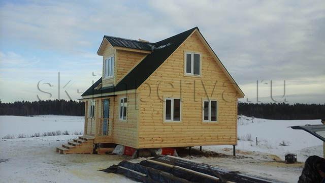Каркасный дом, проект Бестужев