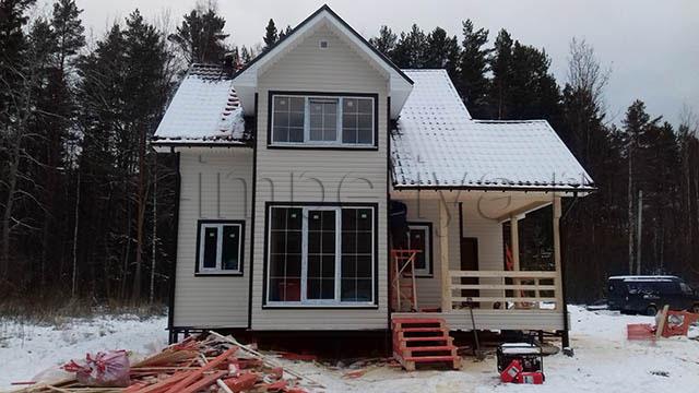 Каркасный дом, проект Мичуринец