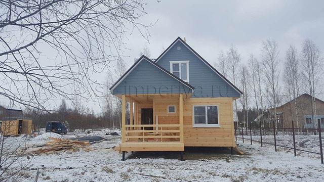 Каркасный дом, проект - Альтаир