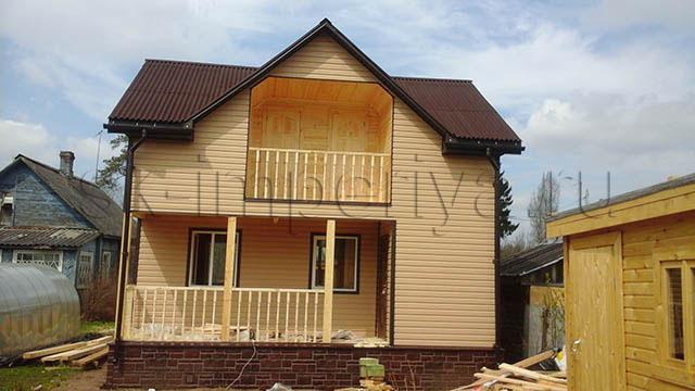 Каркасный дом, проект Лайтхаус