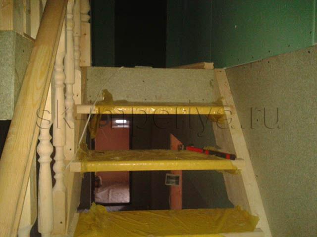 Индивидуальный проект полутораэтажного каркасного дома (9х10м.)