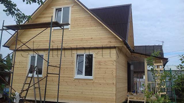 Каркасный дом, проект Нурма