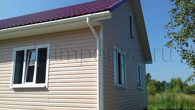 Каркасный дом, проект Горизонт
