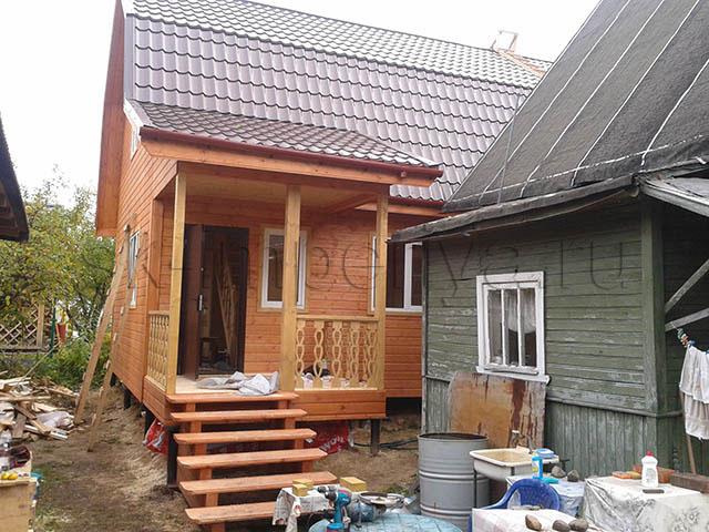 Каркасный дом, проект Д-11