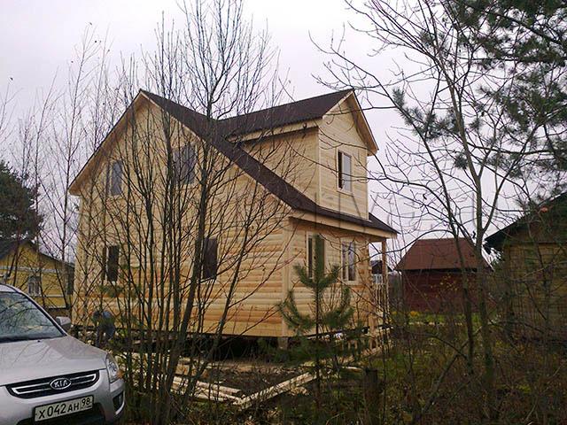 Брусовой дом, проект - Базель