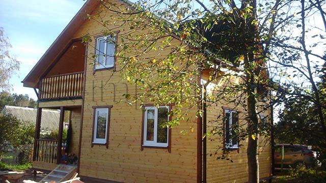Каркасный дом, проект Южный