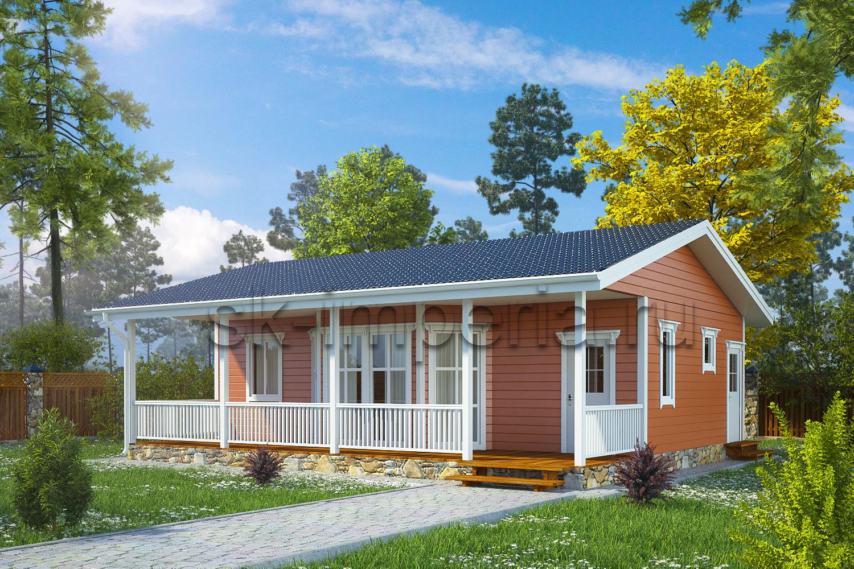 Каркасный дом: Проект Династия