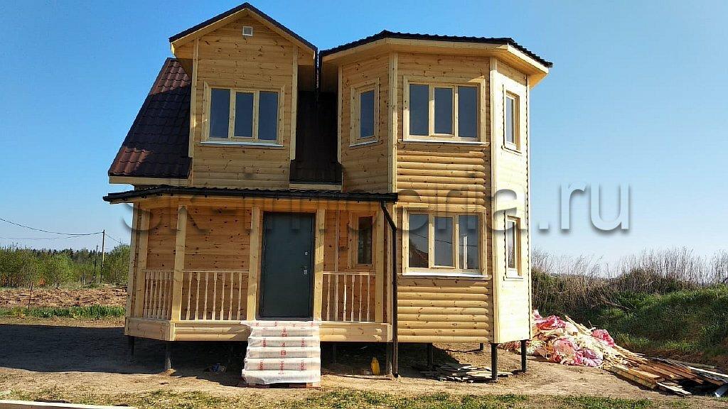 Каркасный дом, проект - Гелиос