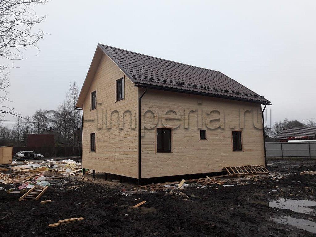 Каркасный дом, проект - Розенталь