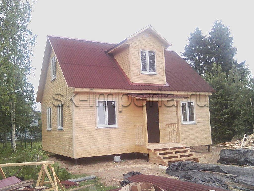 Каркасный дом, проект - Бестужев