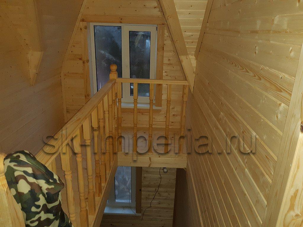 Каркасный дом, проект Альтаир