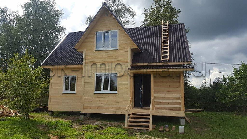 Каркасный дом, проект - Беатрис