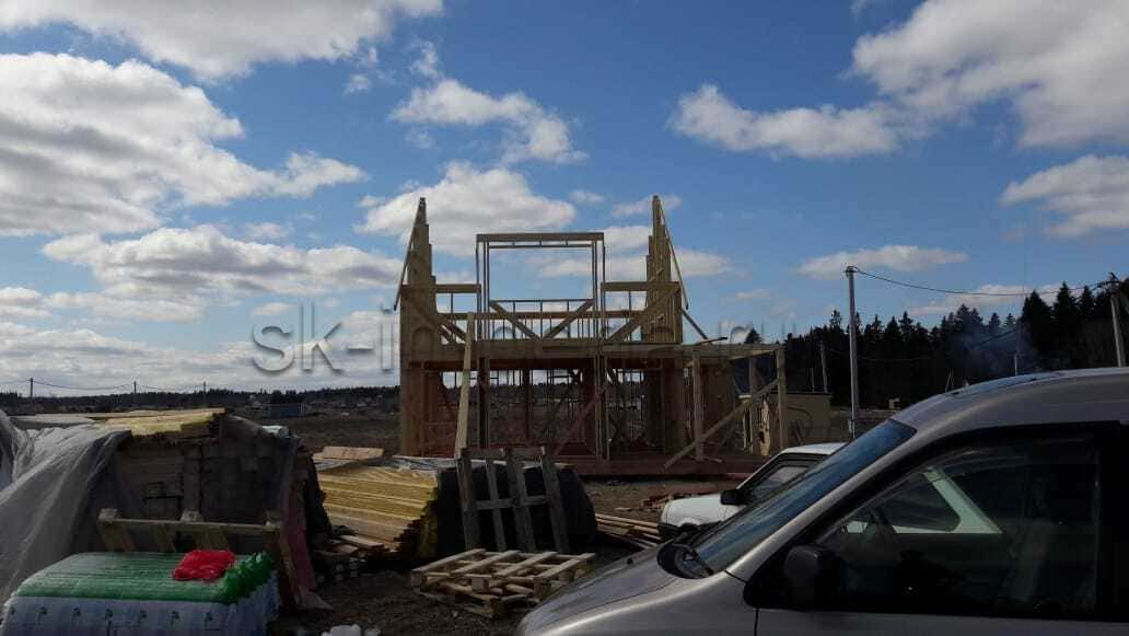 Каркасный дом, проект - Мичуринец