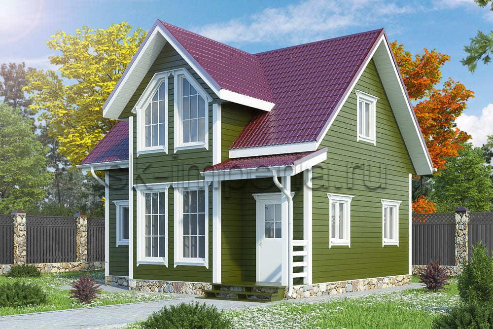Каркасный дом: Проект Олимп